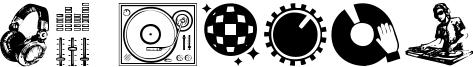DJ Icons Font