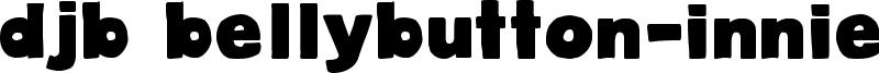 DJB BellyButton-Innie Font