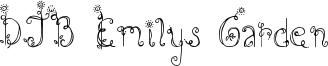 DJB Emilys Garden Font