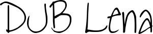 DJB Lena Font