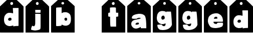 DJB Tagged Font