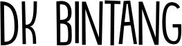 DK Bintang Font