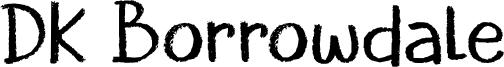 DK Borrowdale Font