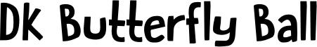 DK Butterfly Ball Font