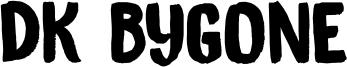 DK Bygone Font