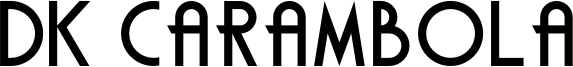 DK Carambola Font