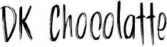 DK Chocolatte Font