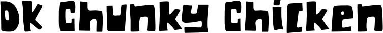 DK Chunky Chicken Font