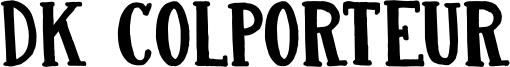 DK Colporteur Font