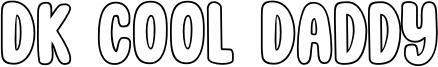 DK Cool Daddy Font