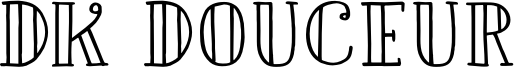 DK Douceur Font
