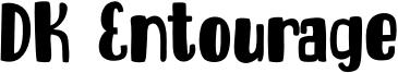 DK Entourage Font