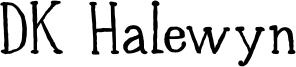 DK Halewyn Font