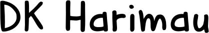 DK Harimau Font