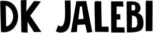 DK Jalebi Font