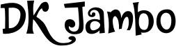DK Jambo Font
