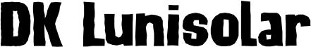 DK Lunisolar Font