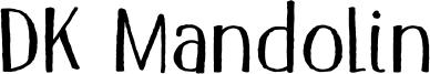 DK Mandolin Font