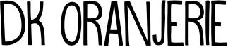 DK Oranjerie Font