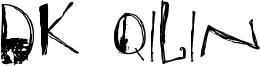 DK Qilin Font