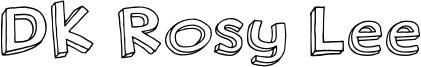 DK Rosy Lee Font