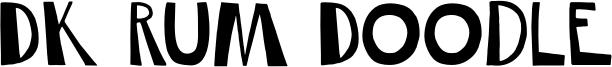 DK Rum Doodle Font