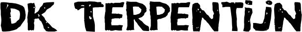DK Terpentijn Font