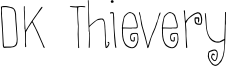 DK Thievery Font
