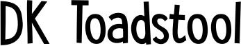 DK Toadstool Font