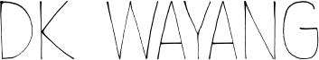 DK Wayang Font