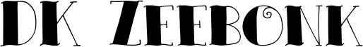 DK Zeebonk Font