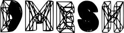 Dmesh Font
