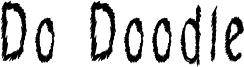 Do Doodle Font