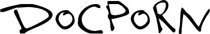 Docporn Font