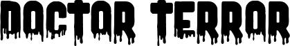 Doctor Terror Font