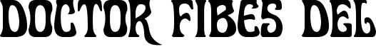 Doctor Fibes DEL Font