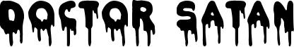 Doctor Satan Font