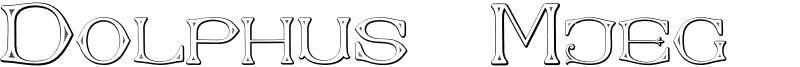 Dolphus-Mieg Alphabet Two Font