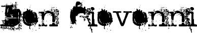 Don Giovonni Font