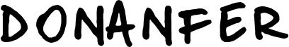 Donanfer Font