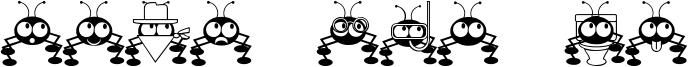 Don't Bug Me Font
