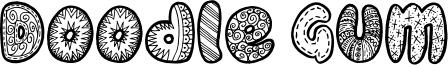 Doodle Gum Font