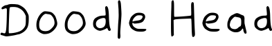 Doodle Head Font