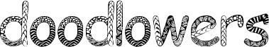Doodlowers Font