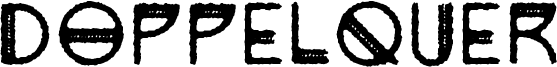 Doppelquer Font