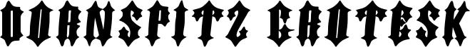 Dornspitz Grotesk Font