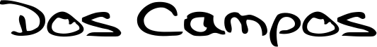 Dos Campos Font