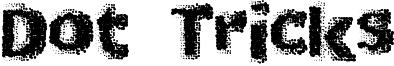 Dot Tricks Font