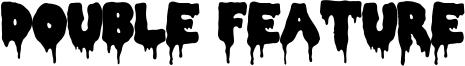 Double Feature Font