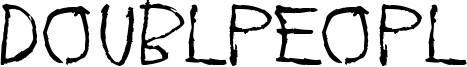 Doublpeopl Font
